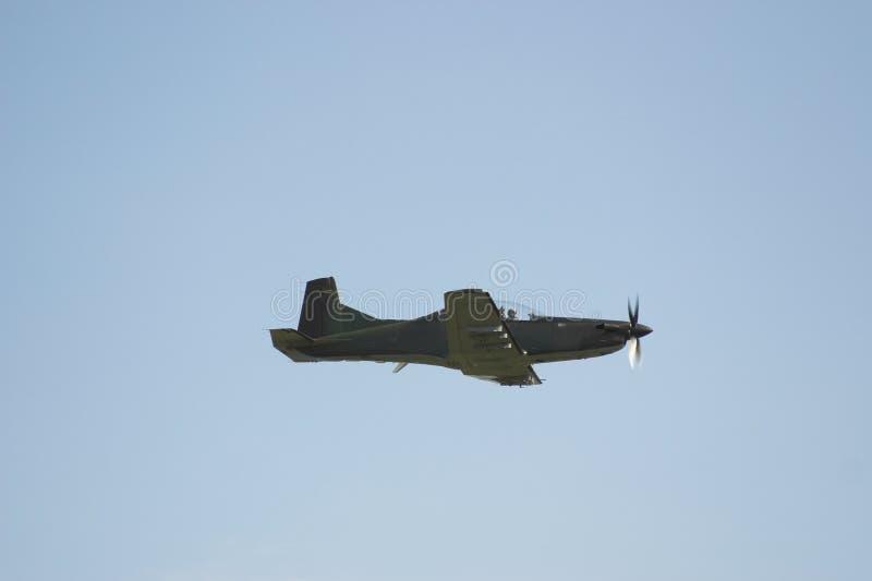 In lucht-pilatus royalty-vrije stock fotografie