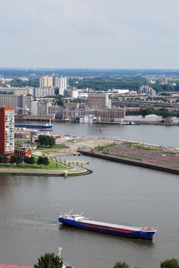 Lucht Rotterdam stock foto