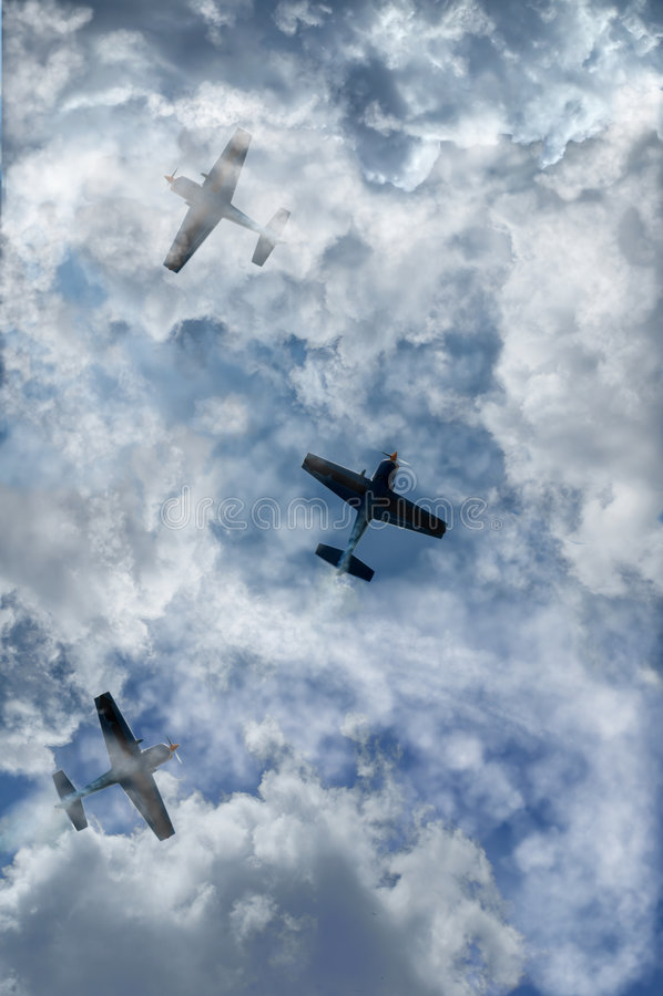 Lucht sport royalty-vrije stock afbeelding