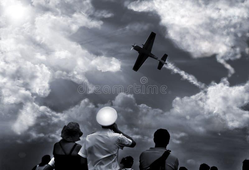 Lucht vergadering royalty-vrije stock afbeelding