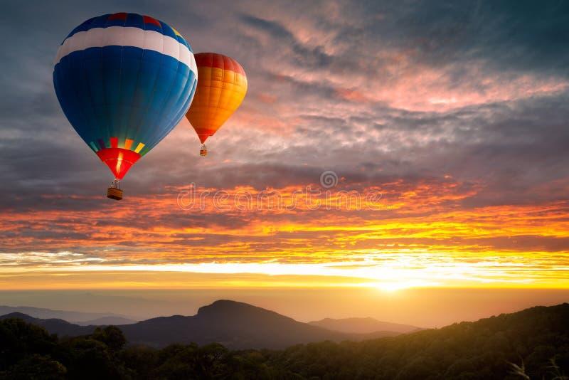 Luchtballonnen stock afbeeldingen
