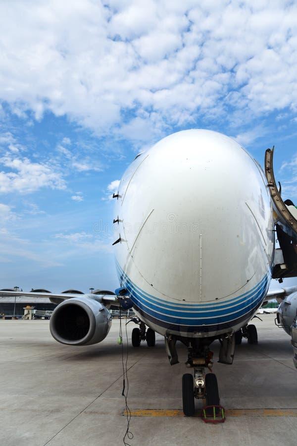 Luchtbus royalty-vrije stock afbeelding