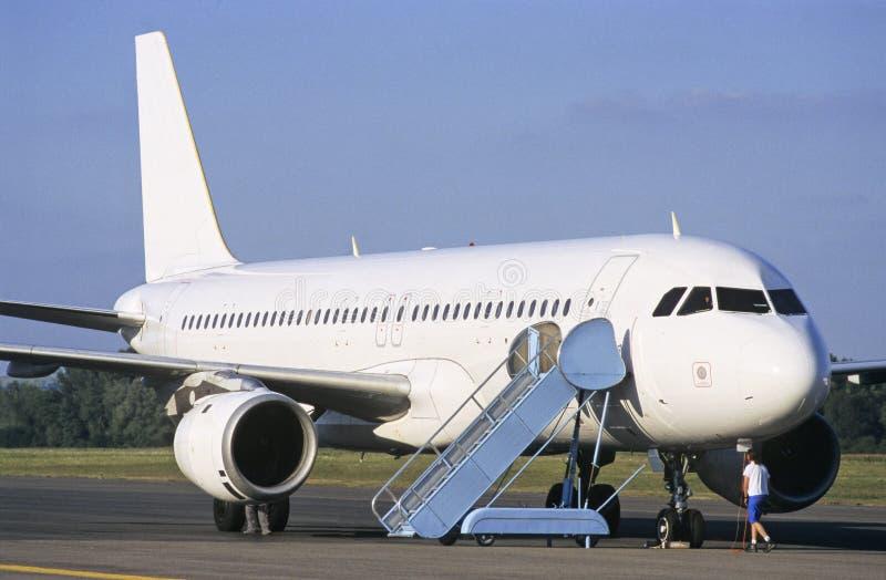 Luchtbus royalty-vrije stock fotografie