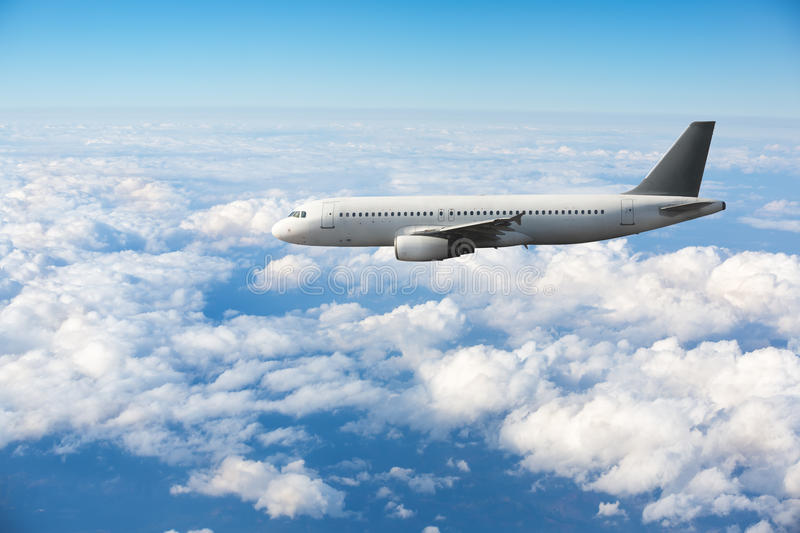 Luchtbus A320 stock foto