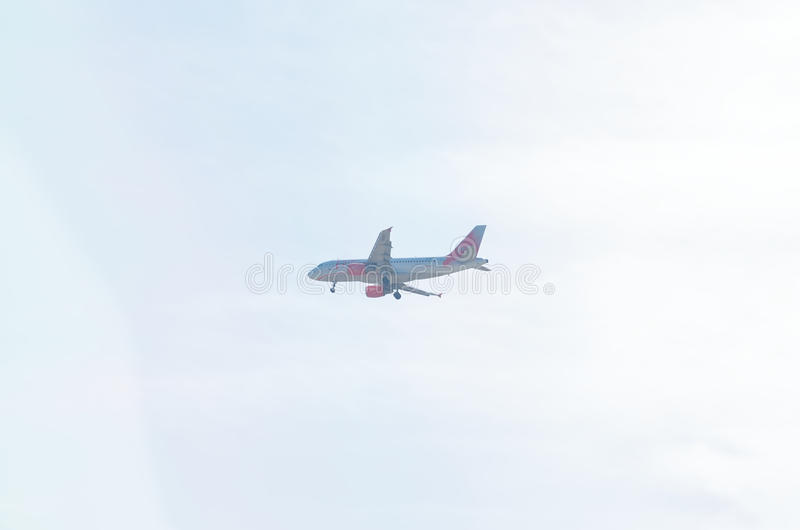 Luchtbus A319-111 stock foto's
