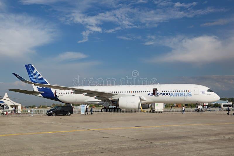 Luchtbus A350-900 royalty-vrije stock fotografie
