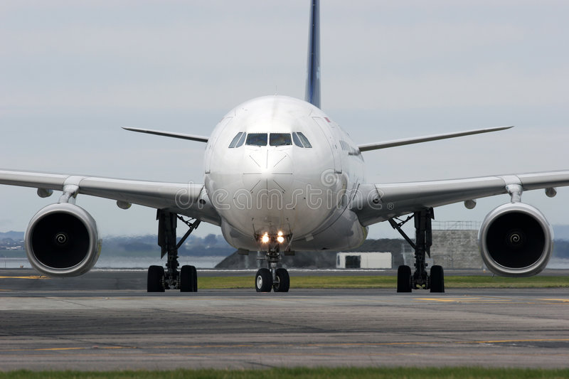 Luchtbus A330 stock foto