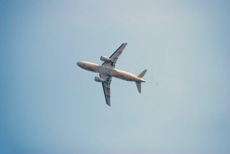Luchtbus A350-900 bij de Internationale Ruimtevaartsalon van MAKS royalty-vrije stock foto