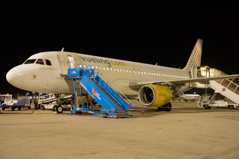 Luchtbus A320-214 - 2794 in werking gesteld door Vueling stock afbeelding