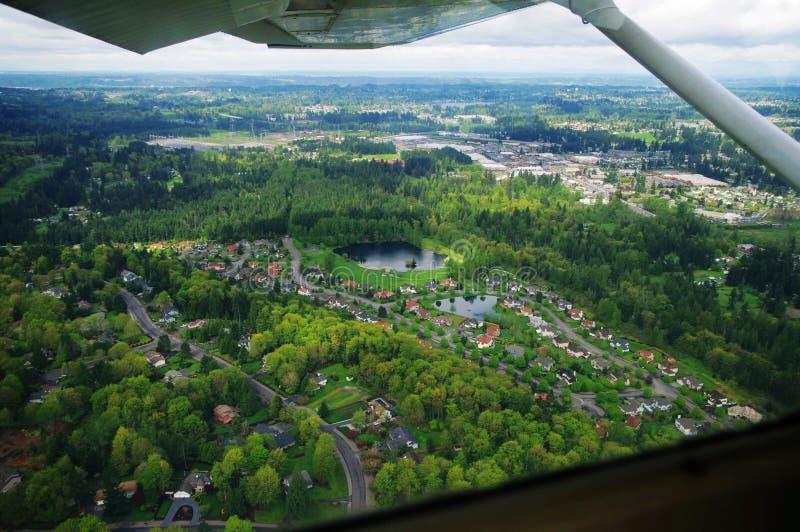 Luchtfotografie/cabine royalty-vrije stock afbeeldingen