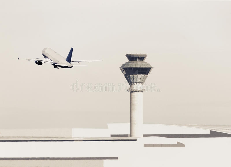 Luchthaven royalty-vrije stock foto