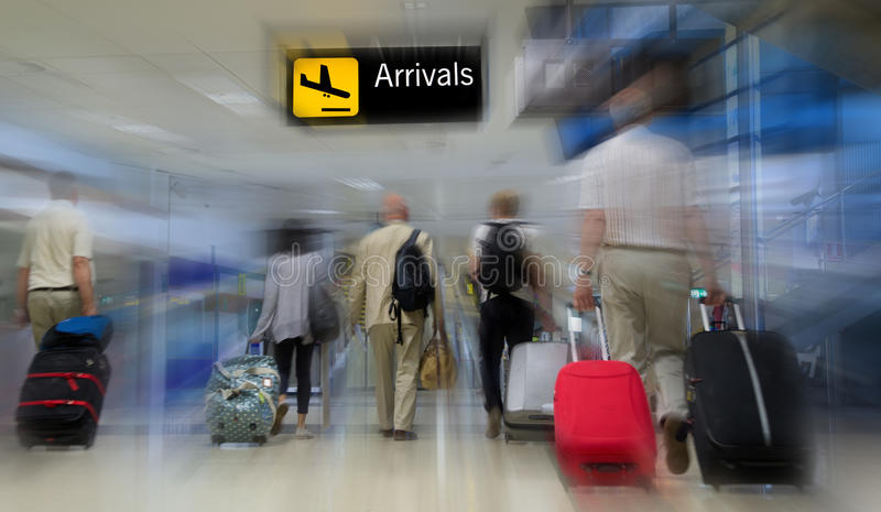 Luchthaven stock afbeelding