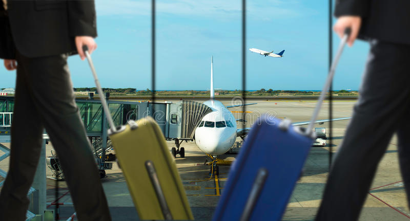Luchthaven van zaken stock afbeeldingen