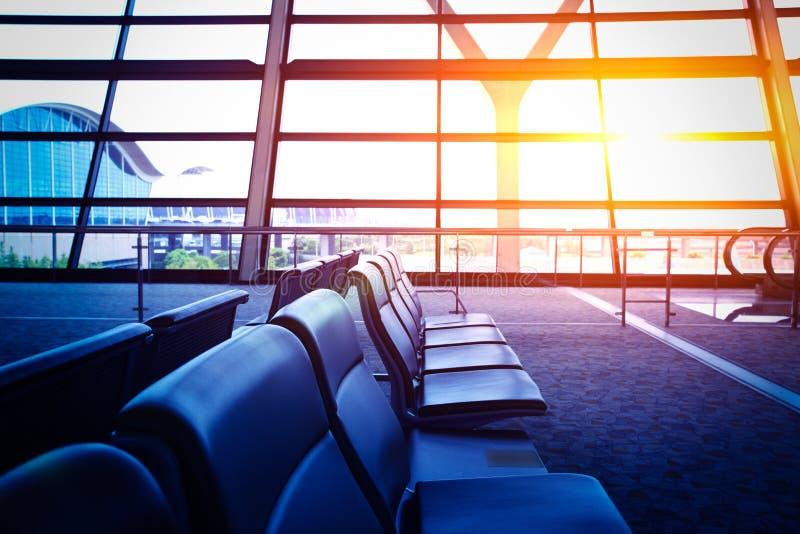 Luchthaventerminal royalty-vrije stock afbeeldingen