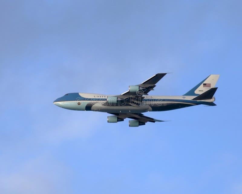 Luchtmacht 28000 stock fotografie