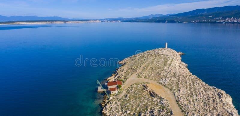 Luchtmening in Kroati? royalty-vrije stock foto's