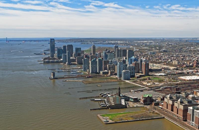 Luchtmening van Brooklyn, meest dichtbevolkte stad van de Stad van New York royalty-vrije stock afbeeldingen