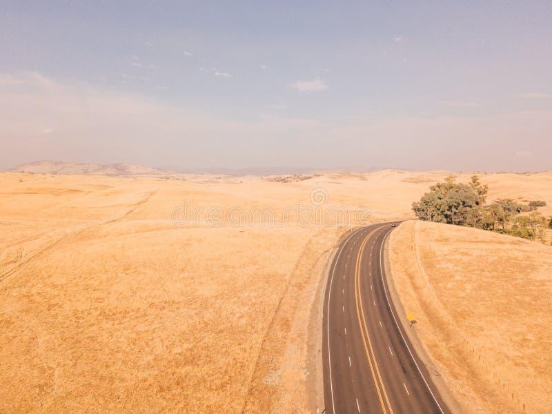 Luchtmening van de Doodsvallei in de V.S. stock foto's