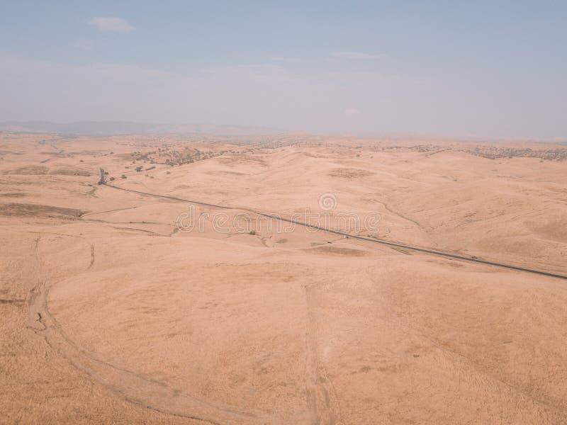 Luchtmening van de Doodsvallei in de V.S. royalty-vrije stock foto