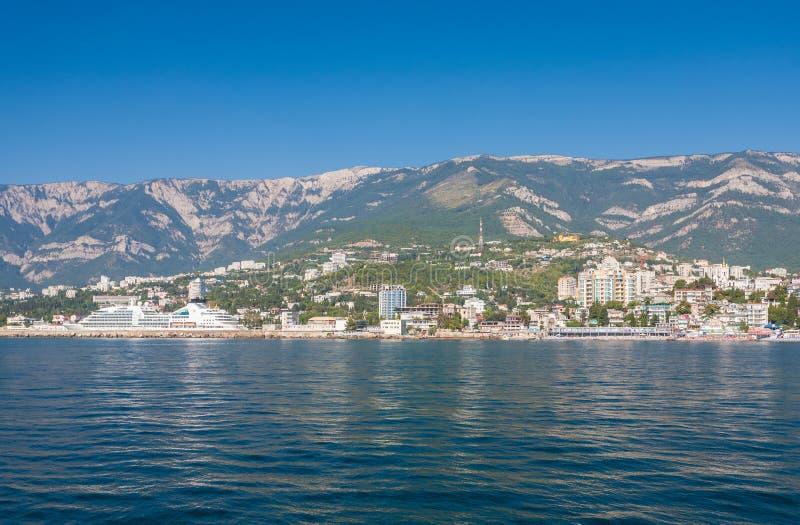 Luchtmening van de Krim royalty-vrije stock foto's