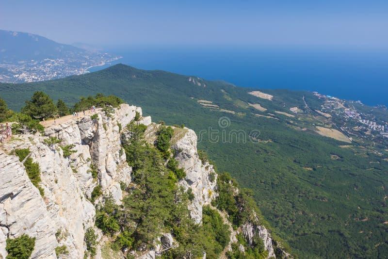 Luchtmening van de Krim royalty-vrije stock afbeeldingen