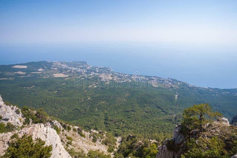 Luchtmening van de Krim royalty-vrije stock foto