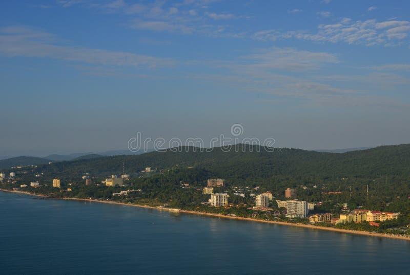 Luchtmening van het Eiland van Phu Quoc, Vietnam royalty-vrije stock fotografie