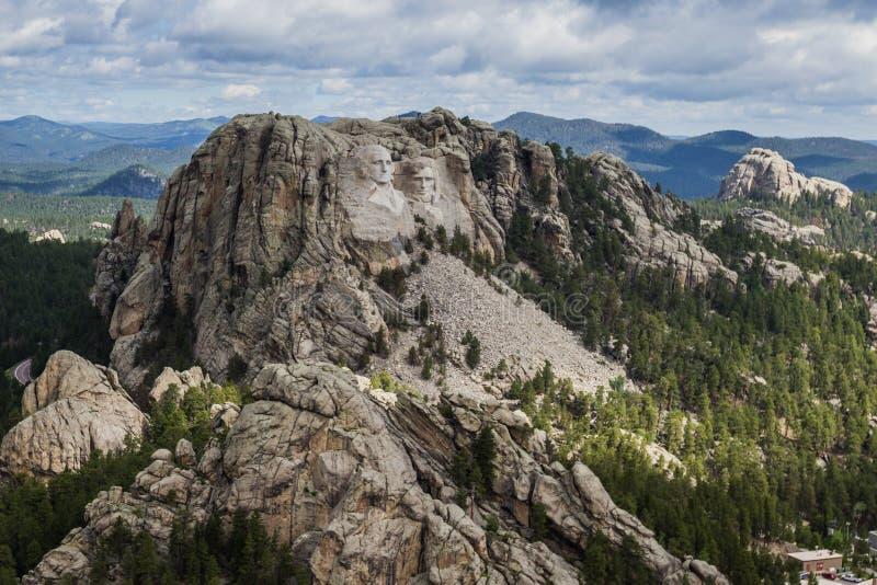 Luchtmening van Onderstel Rushmore royalty-vrije stock afbeeldingen