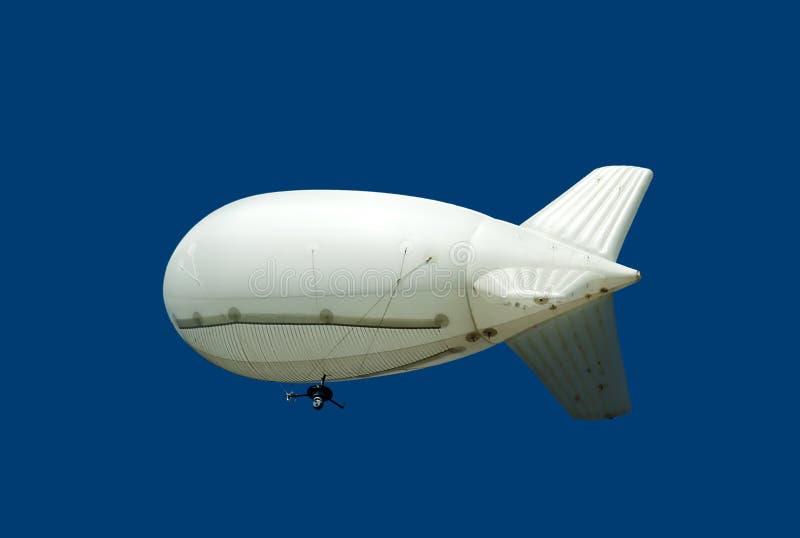 Luchtschip met camera stock foto