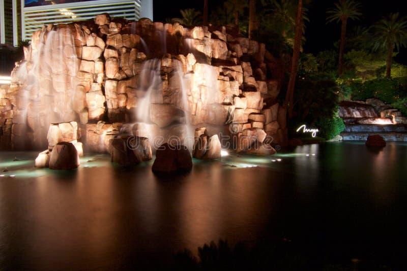 Luchtspiegeling las Vegas royalty-vrije stock afbeeldingen