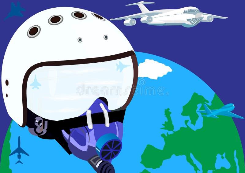 Luchtvaart stock illustratie