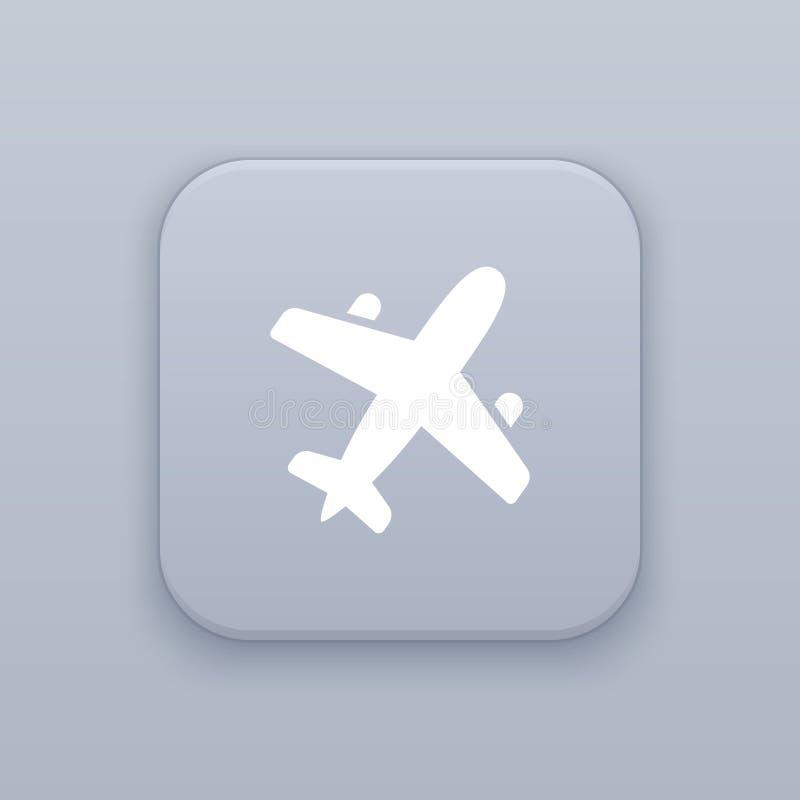 Luchtvaart, vliegtuigknoop, beste vector vector illustratie
