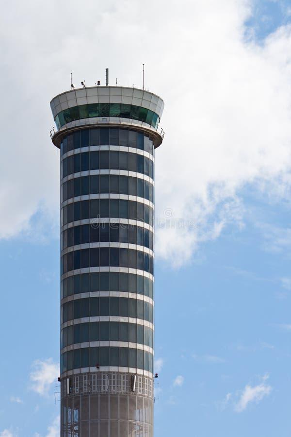 Luchtverkeerscontrole bij Luchthaven Suvarnabhumi royalty-vrije stock fotografie