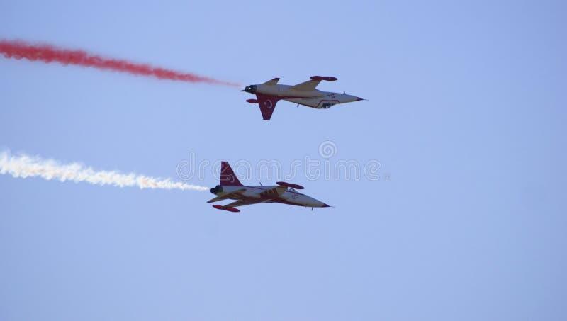 Luchtvliegtuigen royalty-vrije stock foto's