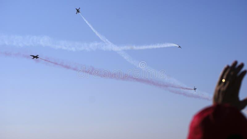 Luchtvliegtuigen royalty-vrije stock afbeelding