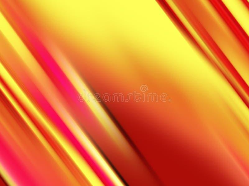 Luci arancio rosse gialle, forme, fondo delle geometrie su fondo nero royalty illustrazione gratis