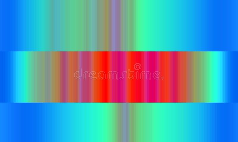Luci astratte blu variopinte vive luminose, fondo variopinto astratto e struttura illustrazione di stock
