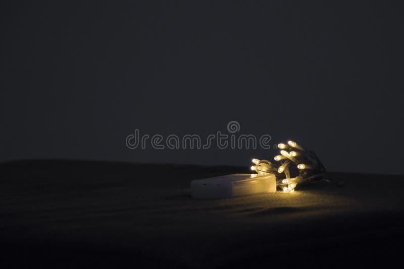 Luci del LED sullo strato fotografie stock