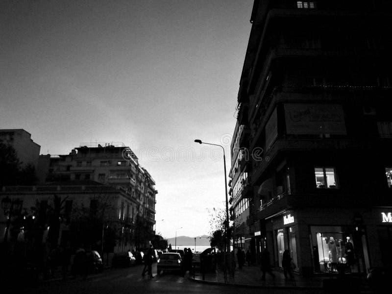 Luci della città! fotografia stock