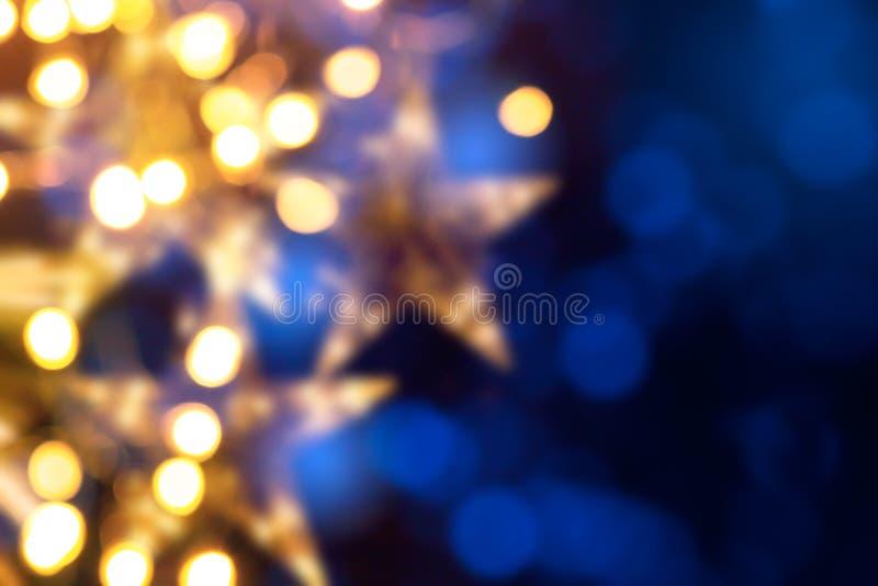 Luci di feste di Art Christmas fotografie stock libere da diritti