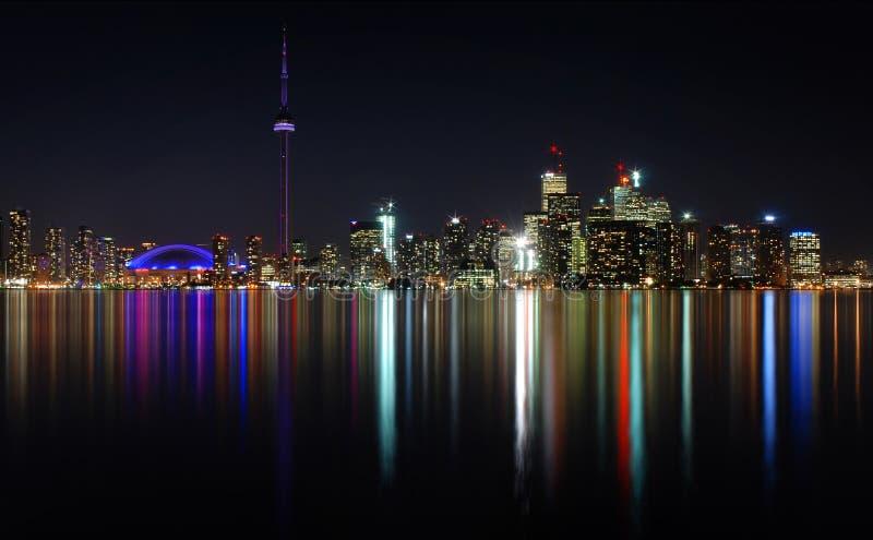 Luci di Toronto fotografie stock libere da diritti