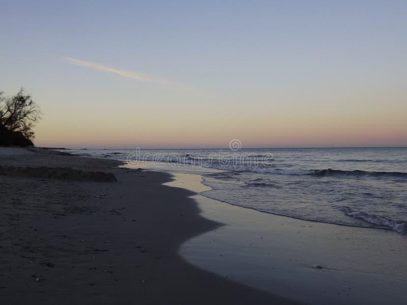 Luci di tramonto immagini stock libere da diritti