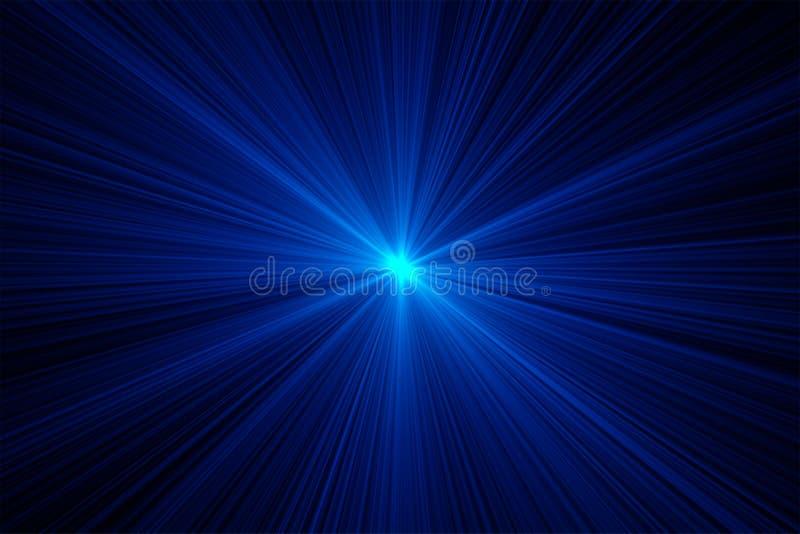 Luci laser illustrazione vettoriale