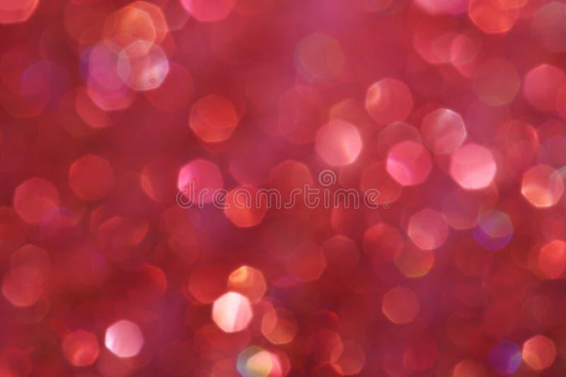 Luci morbide astratte eleganti festive rosa scure del fondo fotografie stock libere da diritti