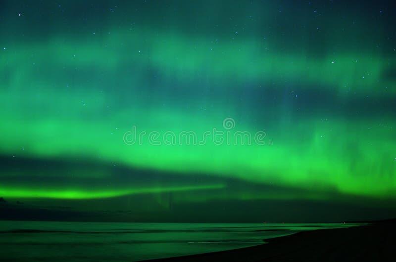 Luci polari di aurora borealis immagini stock libere da diritti