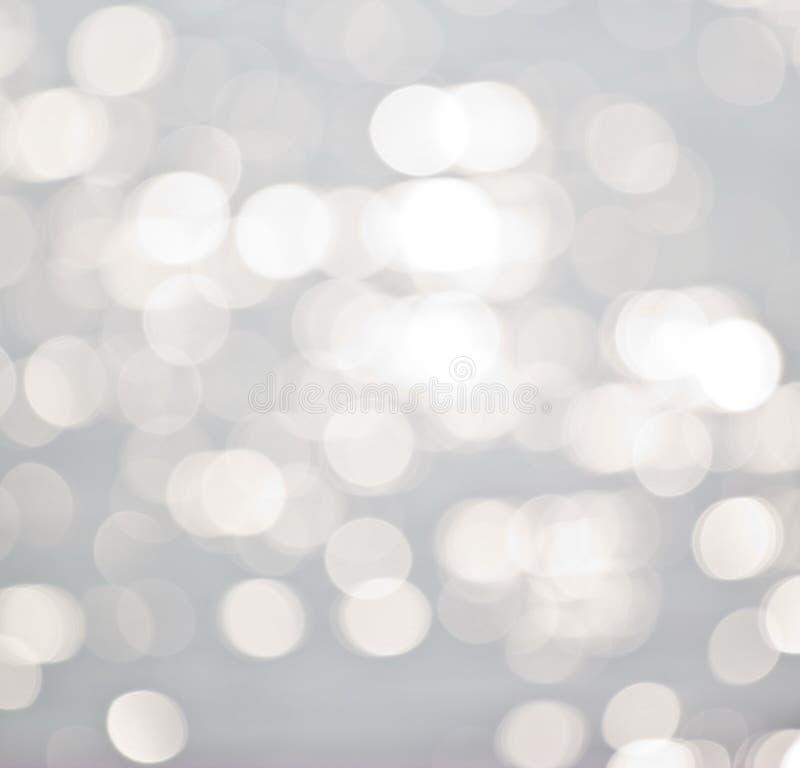 Luci su fondo grigio. immagine stock
