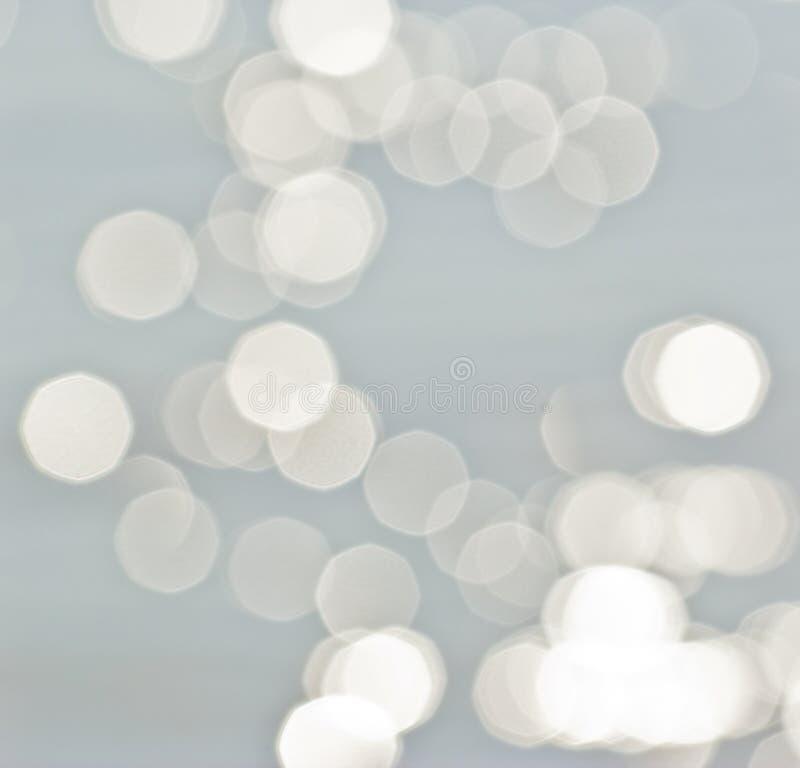 Luci su fondo grigio. immagini stock