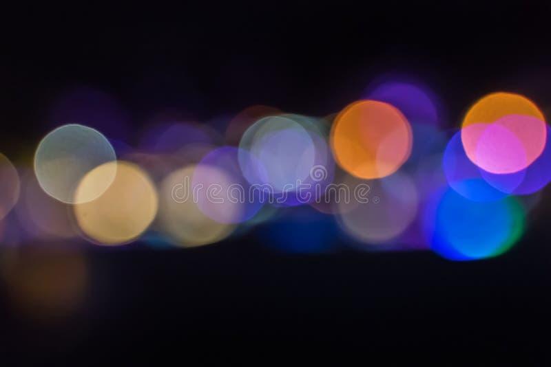 Luci unfocused colorate fotografia stock libera da diritti