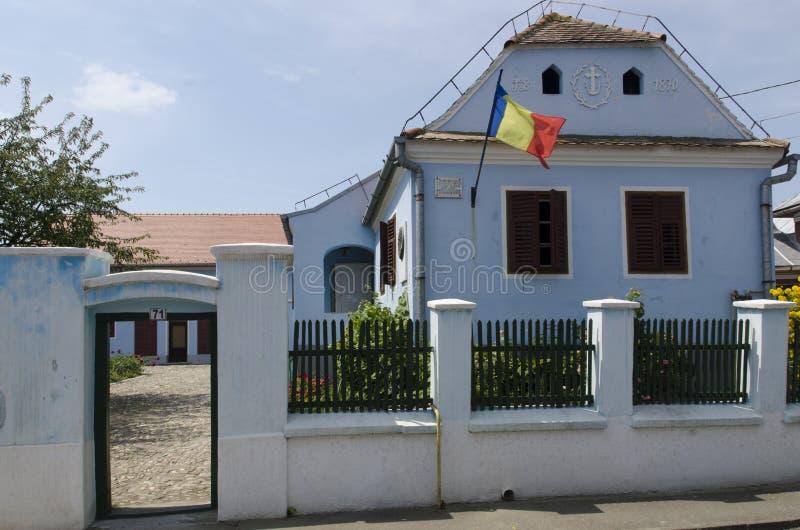Lucian Blaga Memorial House royalty-vrije stock fotografie