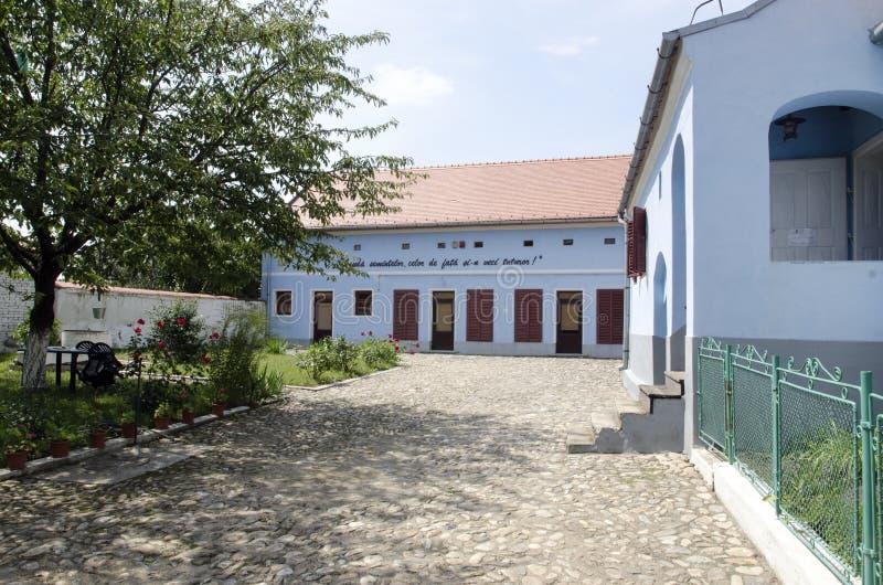 Lucian Blaga Memorial House stock foto